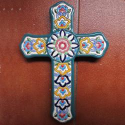"""Ceramic cross """"Arte"""" ref.994-6"""