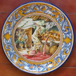 """Plate """"Quixote"""" ref.44-Q1"""