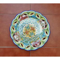"""Plate """"Cruz"""" Ref.294-40A"""