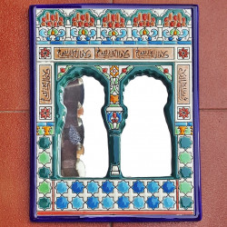 """Ceramic Mirror """"Arte"""" R-533-1"""