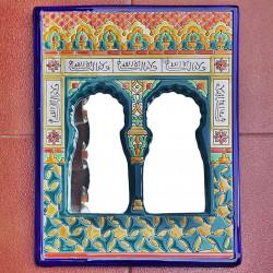 """Ceramic Mirror """"Arte"""" R-533-2"""