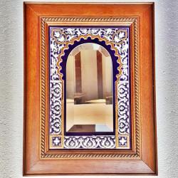 """Ceramic Mirror """"Arte"""" R-681-1"""