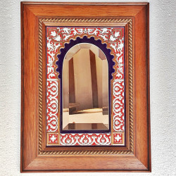 """Ceramic Mirror """"Arte"""" R-681-2"""