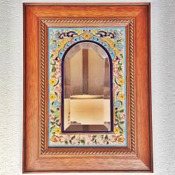"""Ceramic Mirror """"Arte"""" R-681-6"""
