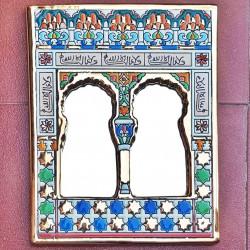 """Ceramic Mirror """"Arte"""" R-533G-1"""