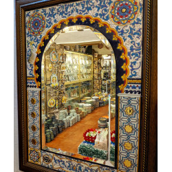 """Ceramic Mirror """"Arte"""" R-628-1"""
