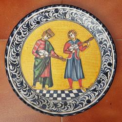 "Ceramic plate ""Bruno"" ref.35-2"