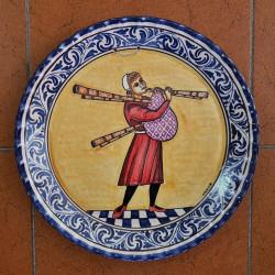 "Ceramic plate ""Bruno"" ref.35-9"