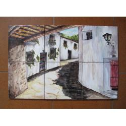 Ceramic Tile Mural -...