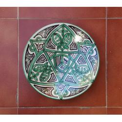 "Ceramic plate ""Punter""..."