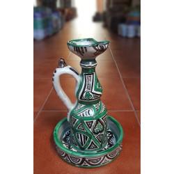 """Ceramic piece """"Punter""""..."""