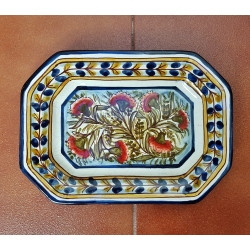 "Ceramic tray ""Rama"" ref.25-2"