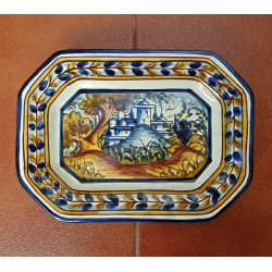 "Ceramic tray ""Rama"" ref.25-3"