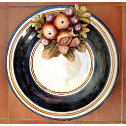 "Ceramic plate ""Rama"" ref.31-1"