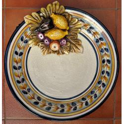 "Ceramic plate ""Rama"" ref.31-2"