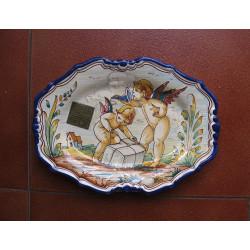 "Ceramic tray ""Escobar""..."