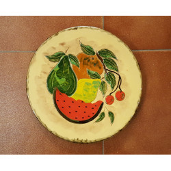 """Ceramic plate """"P.Gros""""..."""