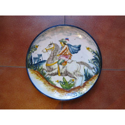 """Ceramic plate """"Diaz"""" ref.30-1"""