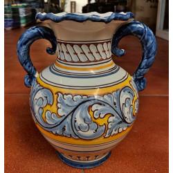 Flower ceramic pot ref.106-1