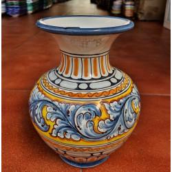 Flower ceramic pot ref.106-2