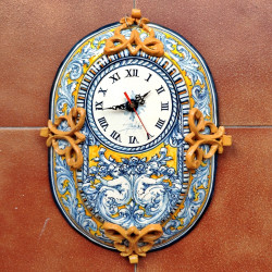 """Clock """"Oval"""" """"Robles"""" ref.37-2"""