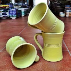 Stoneware mug 10,5 cm. (4...