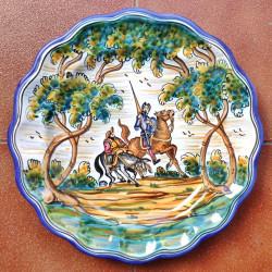 """Plate """"Quixote"""" ref.13-30-Q1"""