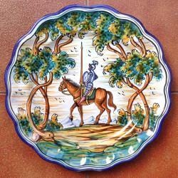 """Plate """"Quixote"""" ref.13-30-Q2"""