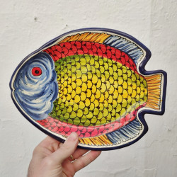 "Plate ""Fish"" ref.109-27"