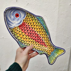 "Ceramic Tray ""Fish"" ref.109-35"