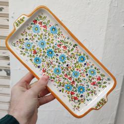 "Ceramic tray ""Cruz"" ref.18A-1"