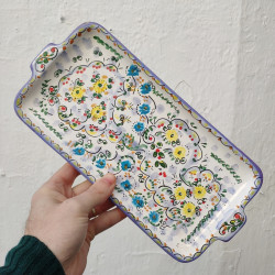 "Ceramic tray ""Cruz"" ref.18A-4"