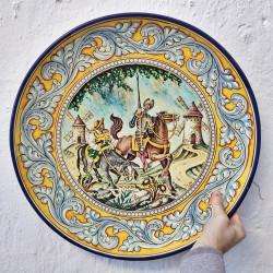 """Plate """"Quixote"""" ref.50-Q1"""