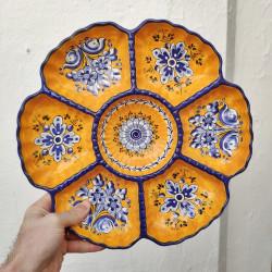 """Tapas"" plate ref.172-07-am"