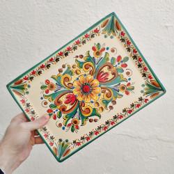 Ceramic tray ref.105-30-v