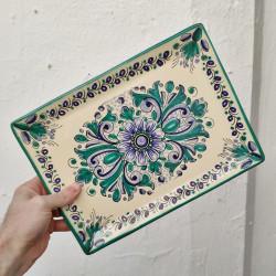 Ceramic tray ref.105-30-av