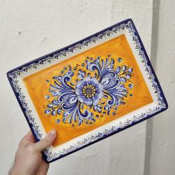 Ceramic tray ref.105-30-am