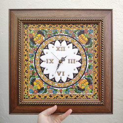 """Ceramic clock """"Arte"""" ref.418-1"""