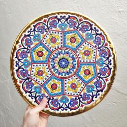 """Plate """"Arte"""" R-119-e"""