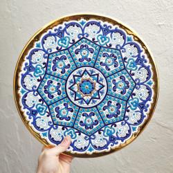 "Plate ""Arte"" R-129-2"