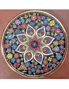 Platos medianos de cerámica española
