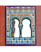 Spanish ceramic mirrors