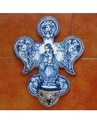 Benditeras de cerámica - Robles -