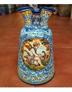 Relojes-Jarrones-Jarras de cerámica - Robles