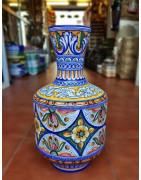 Various pieces of Spanish ceramics
