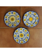 Ceramic Plates 18cm/7.1in