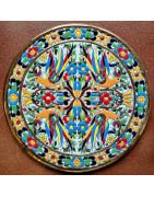 Ceramic plates 28cm.