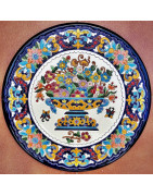 Ceramic plates 32cm.