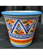 Macetas de cerámica española
