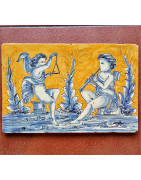 Various ceramic tiles